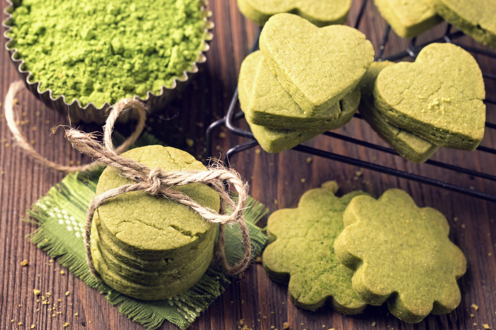 Matcha green tea cookies recipe