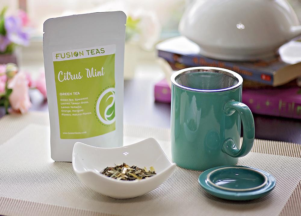 Stoneware Teaz Infuser Mug
