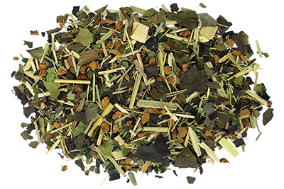 Amazon Spice Guayusa herbal tea, related to yerba mate
