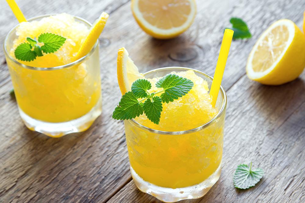 Lemon Tea Slushie Recipe