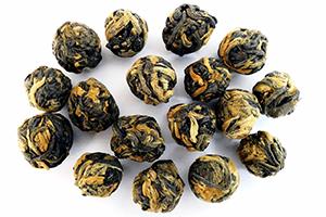 black dragon pearls black tea