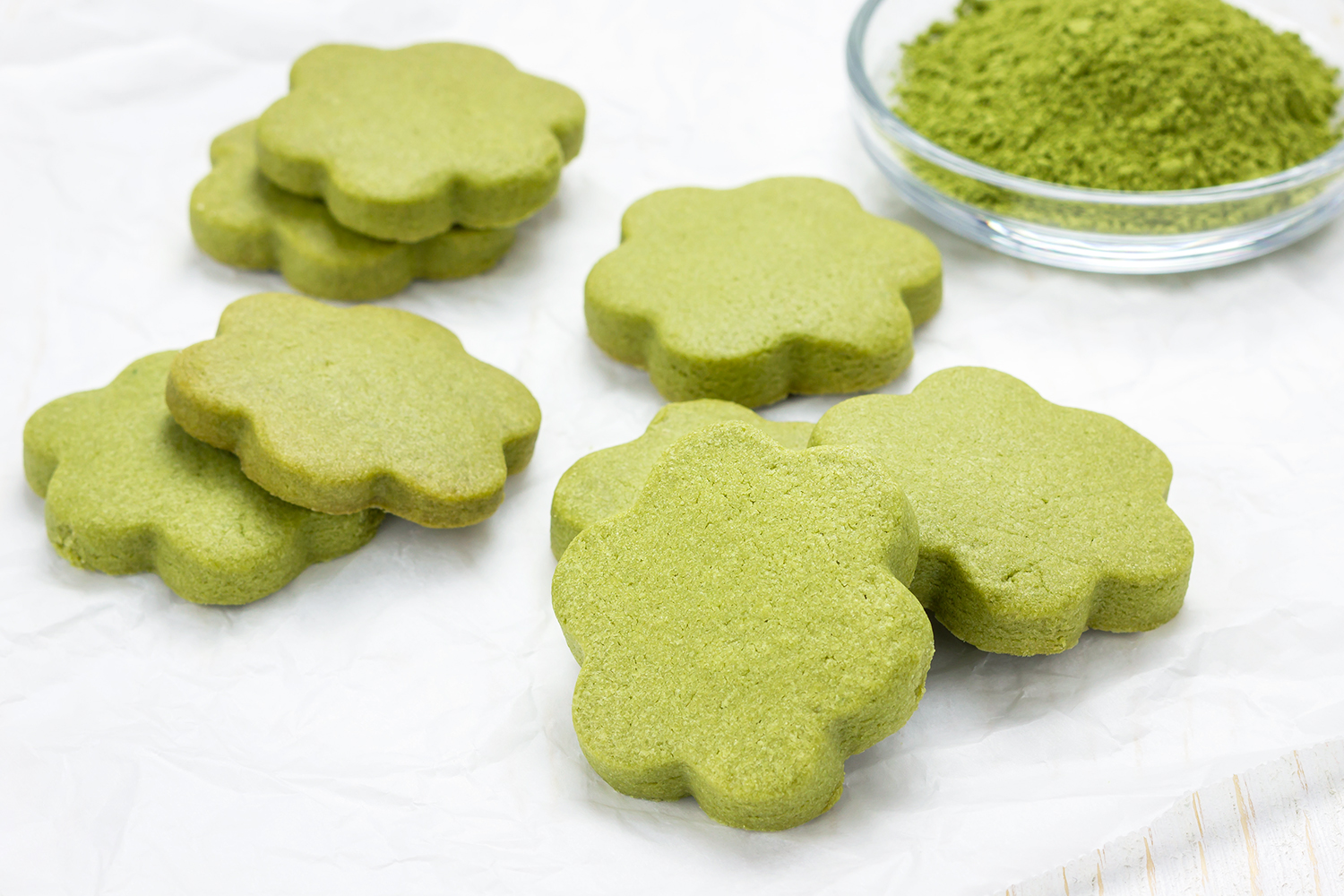 matcha christmas cookies recipe
