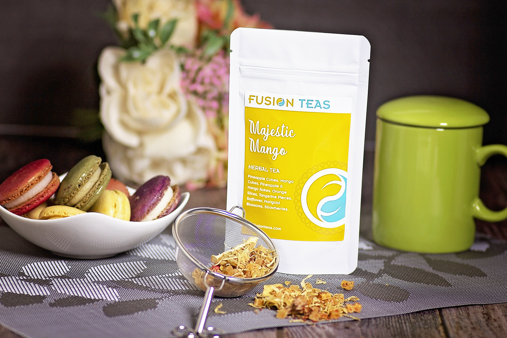 majestic mango herbal tea