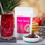 Peach Infusion Hibiscus Tea