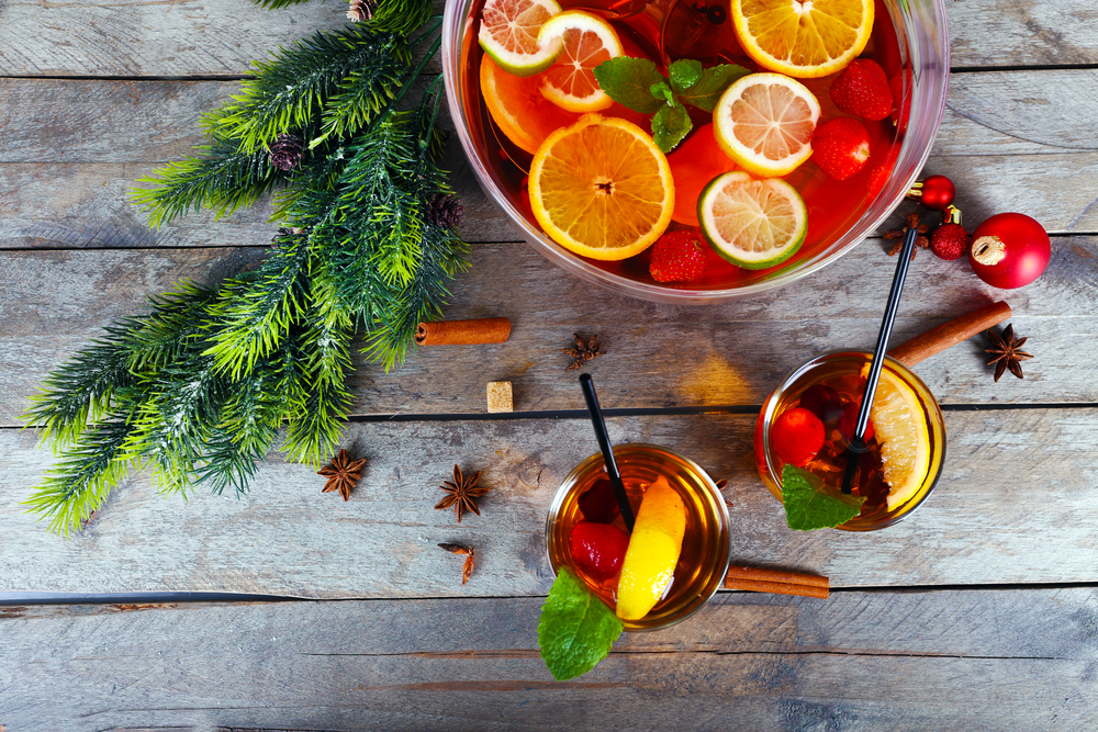Holiday Teas - Vodka Cranberry Punch