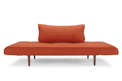 Zeal Deluxe Daybed Orange Basic by Innovation