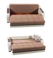 ultra optimum brown sofa bed by sunset cheap click clack sofa beds from target walmart and ikea  rh   blog futonland