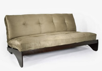 Reverso Black Walnut Full Futon Frame by Strata Furniture