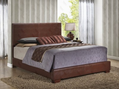 Upholstered Bed Brown by Glory Furniture