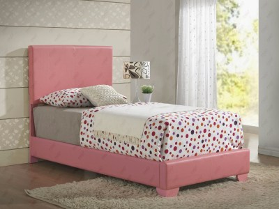 Upholstered Bed Pink by Glory Furniture