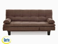 Adelaide Convertible Sofa Java by Serta / Lifestyle