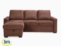 Chester Convertible Sofa Java by Serta / Lifestyle