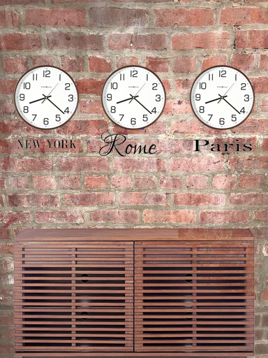 Multi Time Zone Wall: DIY images 2