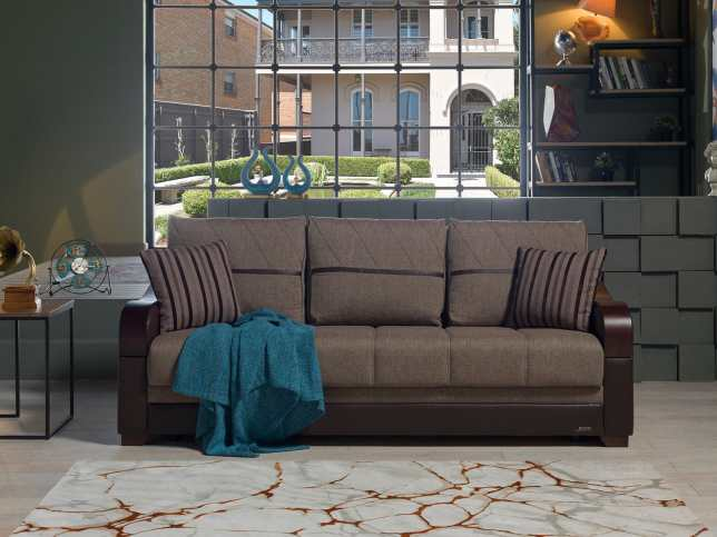 Bennett Redeyef Brown Convertible Sofa Bed