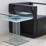 UV bonded pedestal table