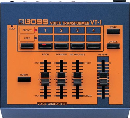 ボイス専用のエフェクターであるVT-1