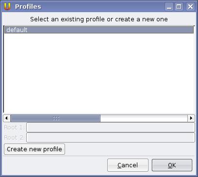 Unison elegir profile