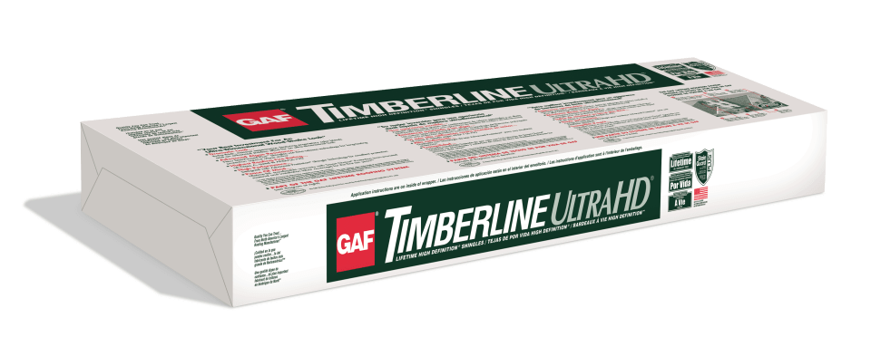 GAF Timberline Ultra HD® Shingles with StainGuard Plus™ time-release algae resistance technology