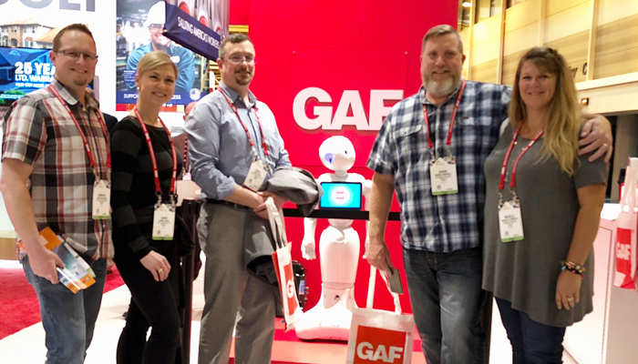 Gaf Salutes The Troops And Highlights Technology At Ire
