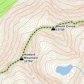 a topographic base map to use with your morel mushroom hunting map