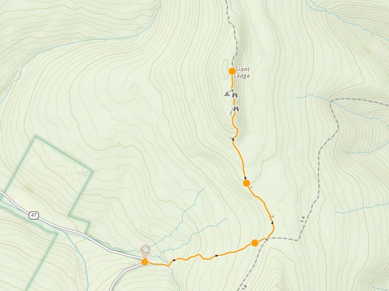 Route creation on gaiagps.com