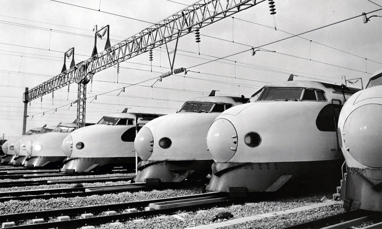 50 Years Of The Shinkansen