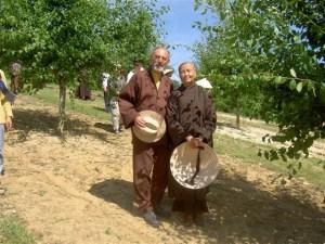 Karl mit Sister Chan Khong