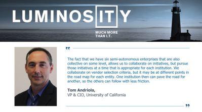 HealthIT CIO Interview Series – Tom Andriola, VP & CIO, University of California