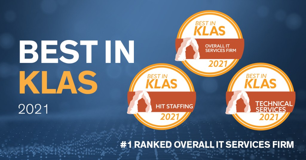 Galen Healthcare Solutions earns 2021 Best in KLAS award as Top Overall IT Services Firm