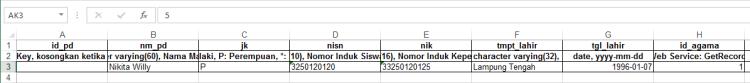 format upload Langkah pertama gt feeder community version langkah mudah upload feeder PDDIKTI