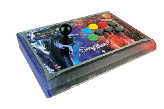 Arcade Stick « Soul Calibur V Soul Edition » de Mad Catz Xbox