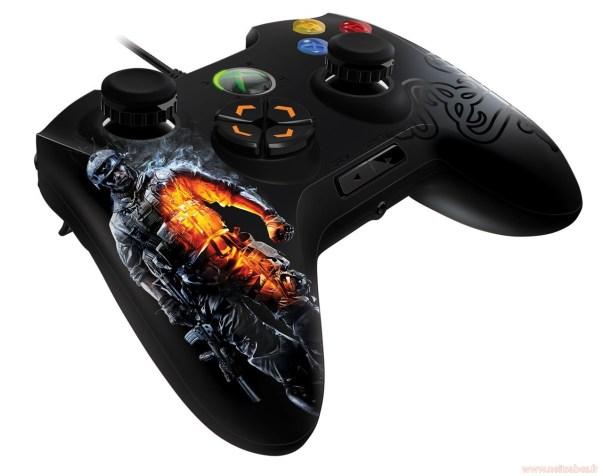 Manette Xbox Razer Battlefield 3