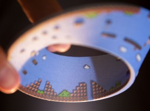 Shapeways Super Mario Bros Mobius