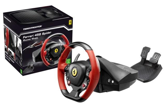 Volant Thrustmaster Ferrari 458 Spider Racing Wheel