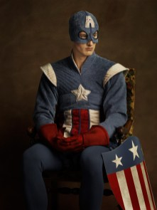 sacha goldberger super heros flamands Captain America