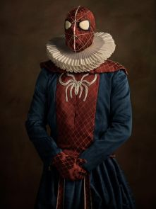 sacha goldberger super heros flamands spiderman