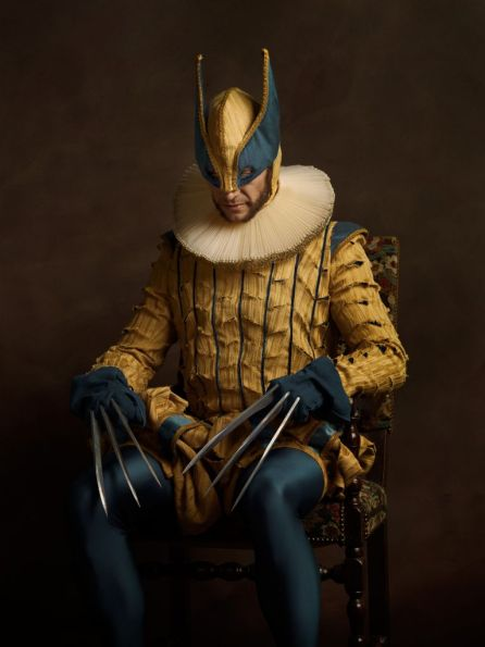 sacha goldberger super heros flamands wolverine
