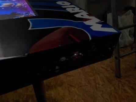 Borne arcade virtua-flipper / boutons