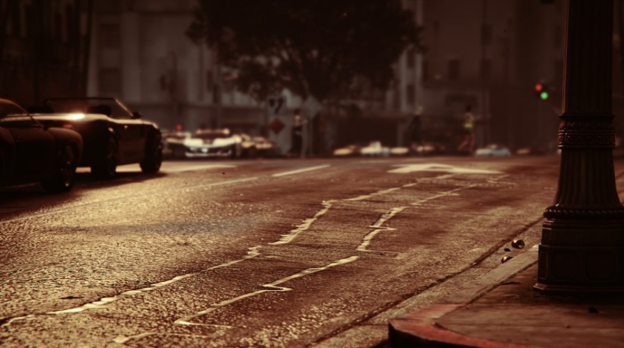Photo in game jeu video GTA V