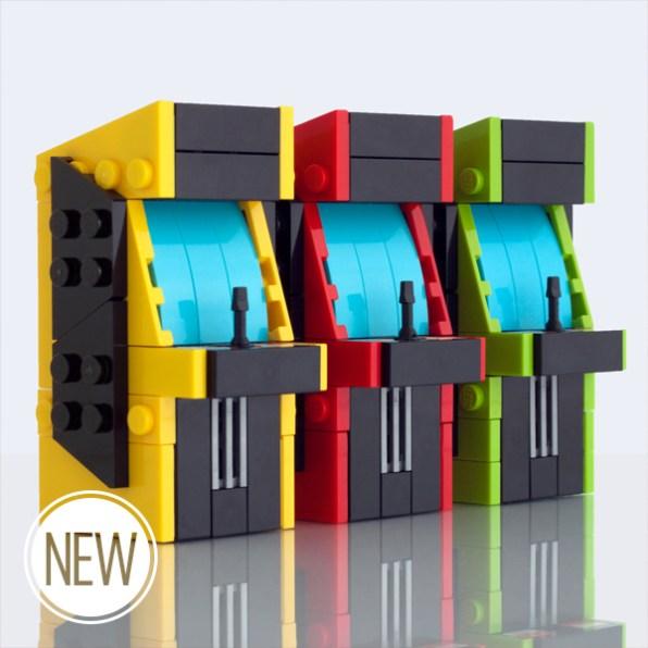 Bornes arcade en Lego