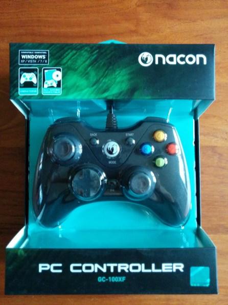Manette PC Nacon GC-100XF