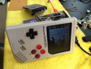 mod Game Boy - Raspbe-rry PI Zero