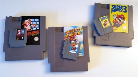 cartouches Nintendo NES et NESPI - Raspberry pi Daftmike