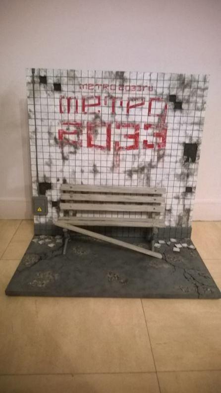 julian Diorama 1/6 - Metro 2033