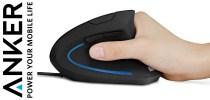 Test Anker Ergonomic Optical Mouse - Souris droitier verticale | PC