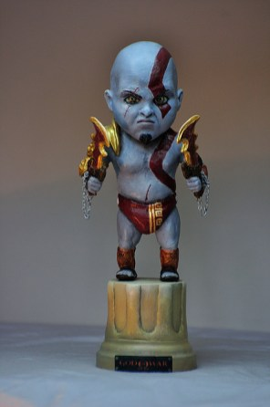 Bensculpt Creations - baby Kratos - God of War