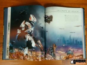 Illustration livre guide officiel l'histoire de Halo- Mythos