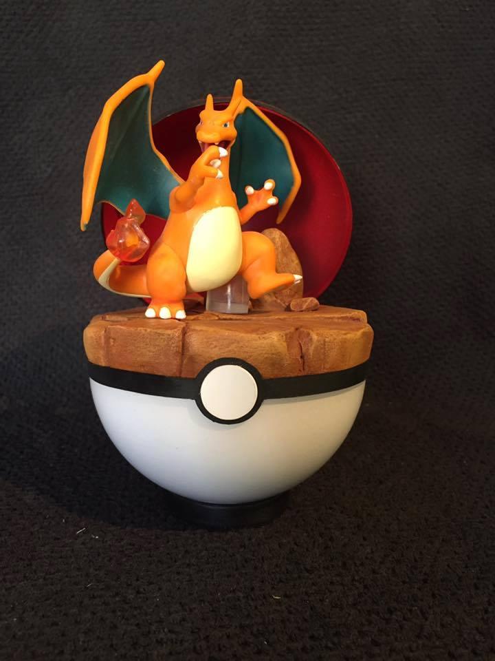Pokemon Pokeball Dracofeu