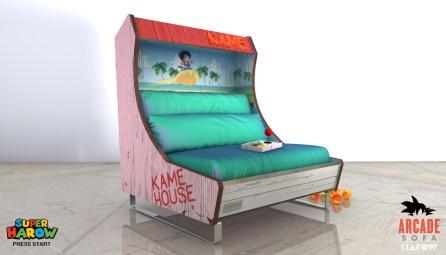 Harow Arcade Sofa - Dragon Ball Z