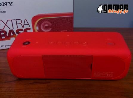 Enceinte Bluetooth Sony SRS-XB40 - smartphone